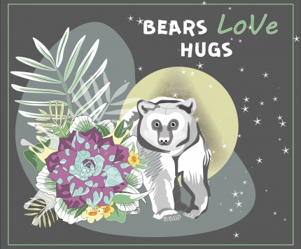 Bears love hugs